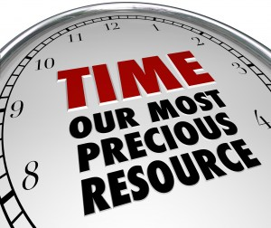 Time is our Most Precious Resource